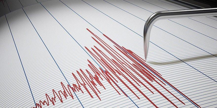 Afyonkarahisar'ın Dinar ilçesinde 3.6 büyüklüğünde deprem!
