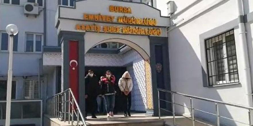 Bursa'da dolandırıcılık operasyonu