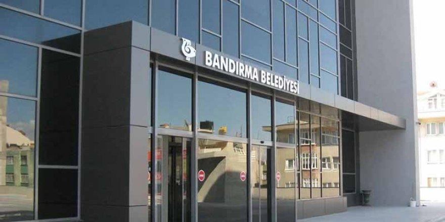 Bandırma belediyesi ilan verdi