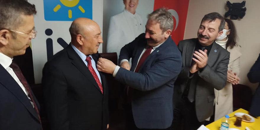 MHP'li başkan İYİ Parti'ye geçti