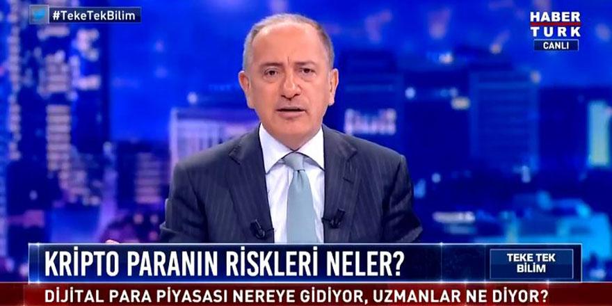 Fatih Altaylı'dan AKP'ye olay gönderme! Canlı yayında öyle şeyler söyledi ki...