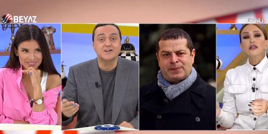 Magazin programında Cüneyt Özdemir'e şoke eden tehdit! Senin bize çok haberin geliyor