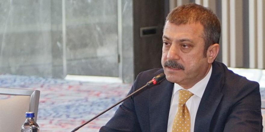 Merkez Bankası Başkanı Şahap Kavcıoğlu'ndan 'faiz' açıklaması
