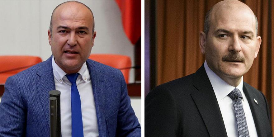 CHP İzmir Milletvekili Murat Bakan,  İçişleri Bakanı Süleyman Soylu'yu istifaya çağırdı