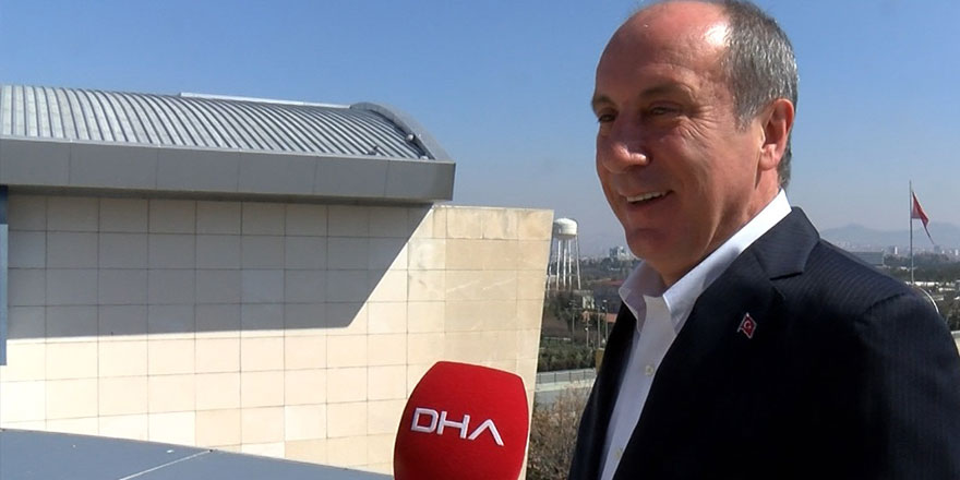 CHP'den ayrılan Muharrem İnce partisini kuracağı tarihi açıkladı
