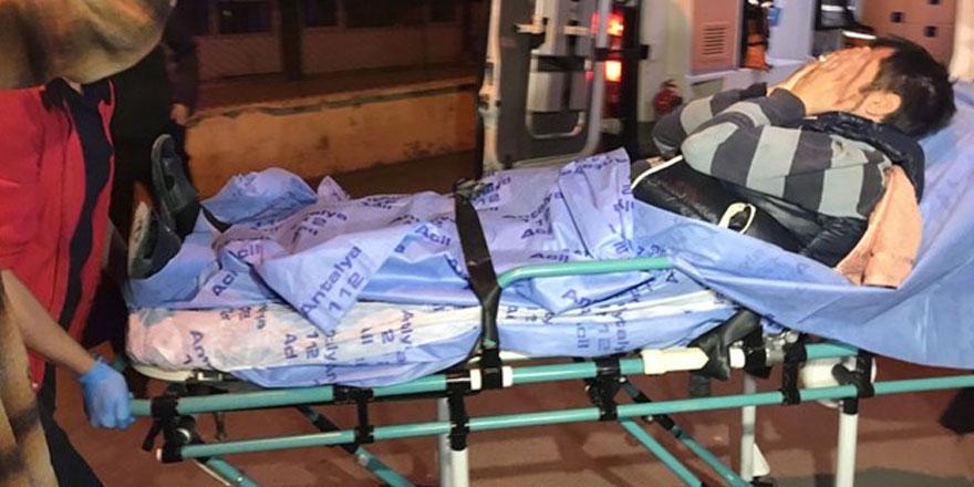 Kömürlük kavgasında iki komşu yaralandı