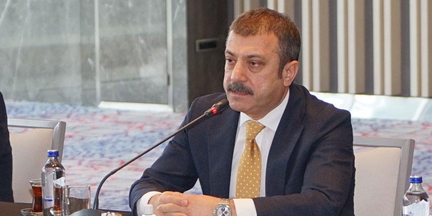Merkez Bankası Başkanı Şahap Kavcıoğlu'ndan flaş açıklama