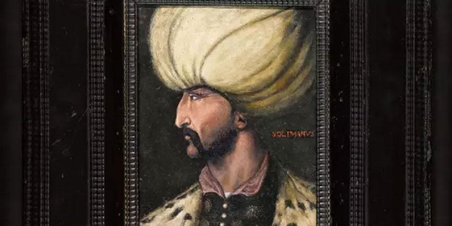 Kanuni Sultan Süleyman'ın portresi, rekor fiyata satıldı