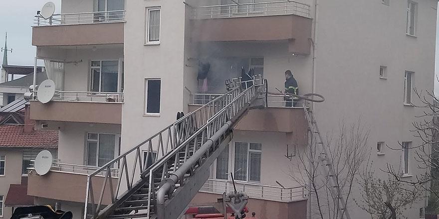 Düzce'de elektrikli battaniye yangına sebep oldu!