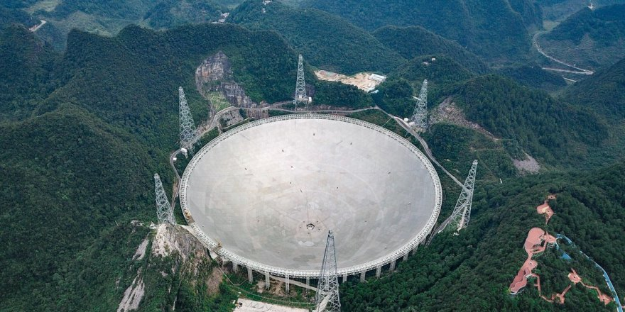 Çin devasa teleskobunu kullanıma açtı
