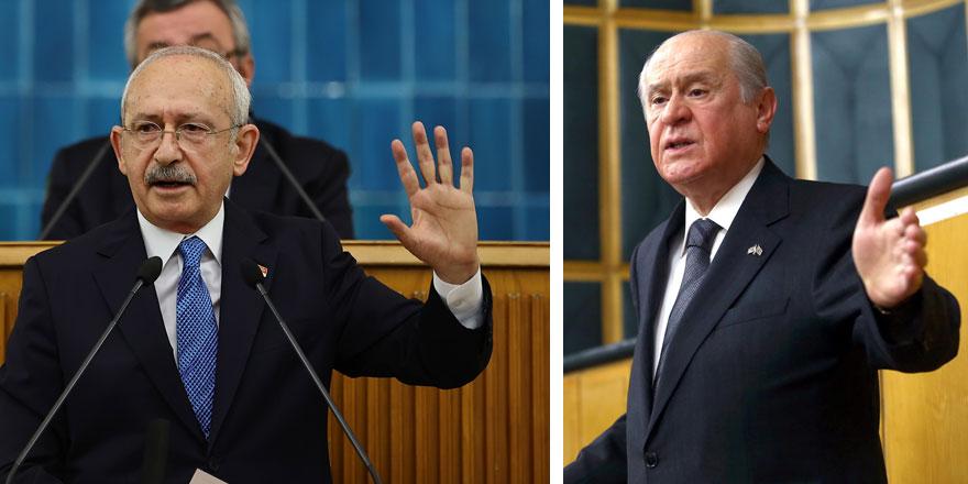 Kemal Kılıçdaroğlu'nun yeni hedefi Devlet Bahçeli! Aklındaki strateji belli oldu