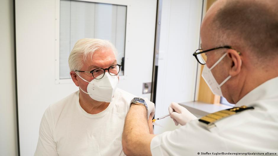 Avrupa'da neler oluyor? Almanya Cumhurbaşkanı Alman aşısını tercih etmedi!
