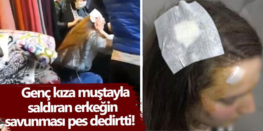 Bursa'da evine doğru yürüyen Ecenur Ö. , Sedat A.'nın muştalı saldırısına uğradı