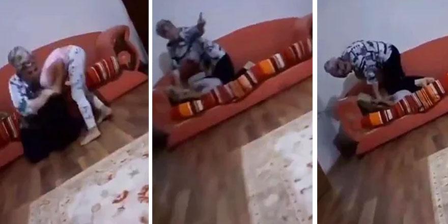 Kızına şiddet uygulayıp nefessiz bırakan cani anneye ibretlik ceza