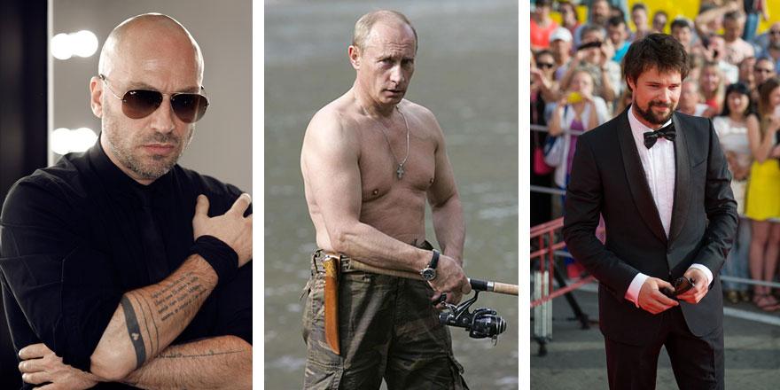 Rusya'nın en seksi erkeği seçildi! Açık ara farkla kazanan...