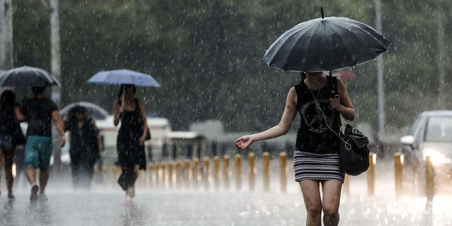 Meteoroloji  tek tek sıraladı! İşte yağışlı bölgeler