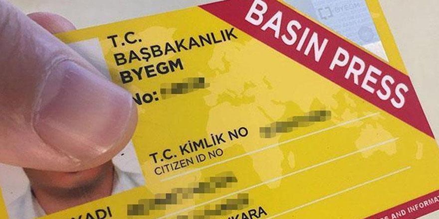 Bin 371 gazetecinin basın kartı yenilenmedi