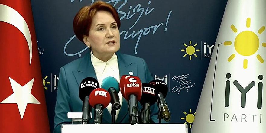 Meral Akşener'den bildiri açıklaması