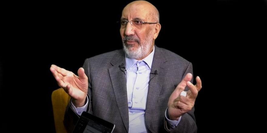 Abdurrahman Dilipak'tan dikkat çeken yorum: 'Amiral battı' oynamıyorum...