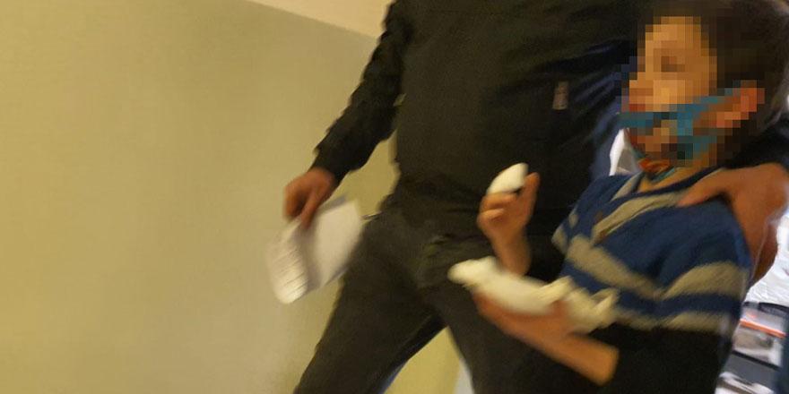 Bursa'da 8 yaşındaki çocuğun parmağı koptu
