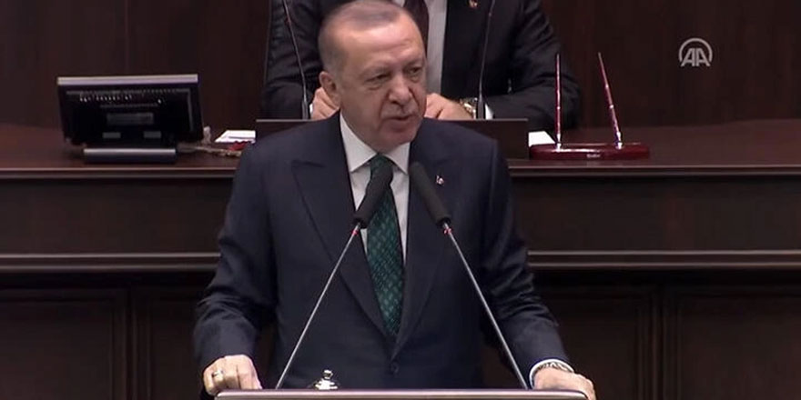 """Erdoğan'dan olay sözler! """"Bu emekli amirallerin merkezinde CHP var"""""""