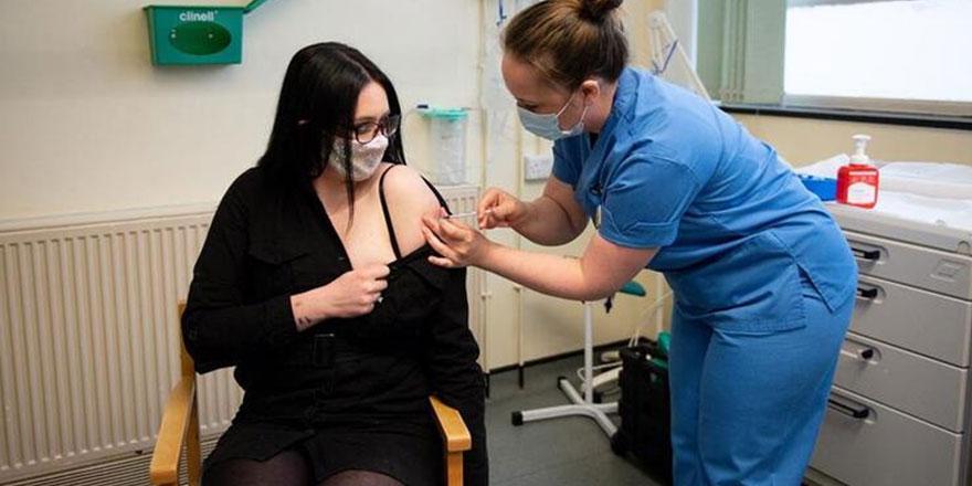 İngiltere'de ilk doz Moderna aşısı yapıldı!