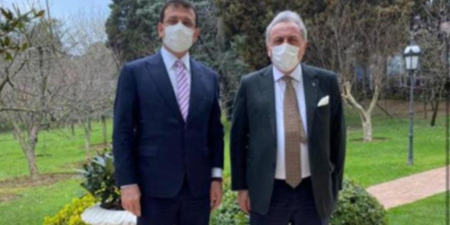 Eski AKP'li vekilden İmamoğlu'na ziyaret