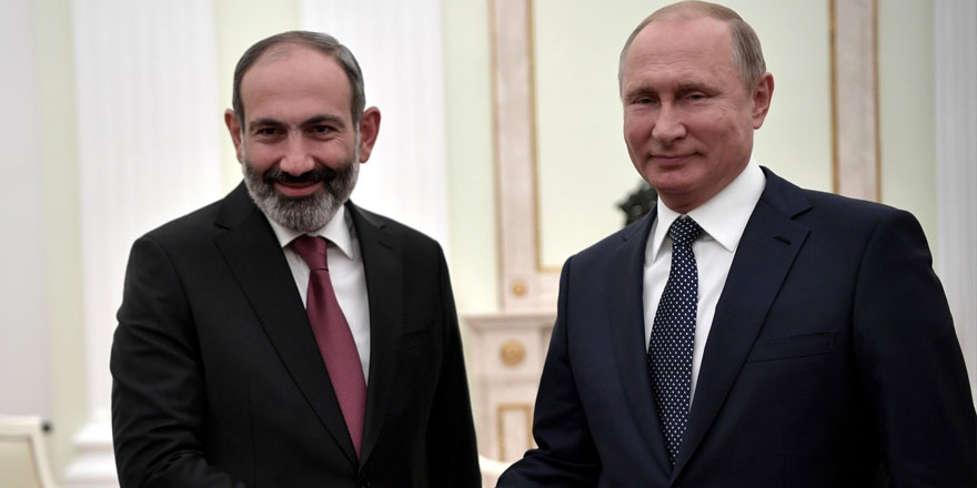 Paşinyan Rusya'dan çok memnun!