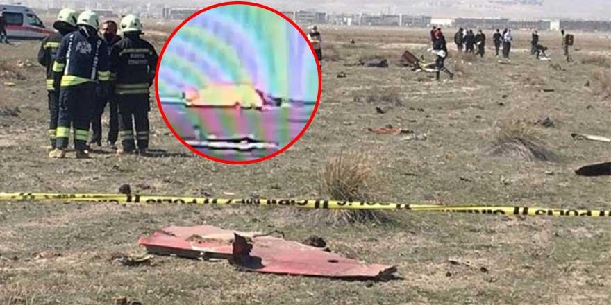 Konya'da düşen Türk Yıldızları'ndaki NF-5 uçağının düşme anı anbean kaydedildi