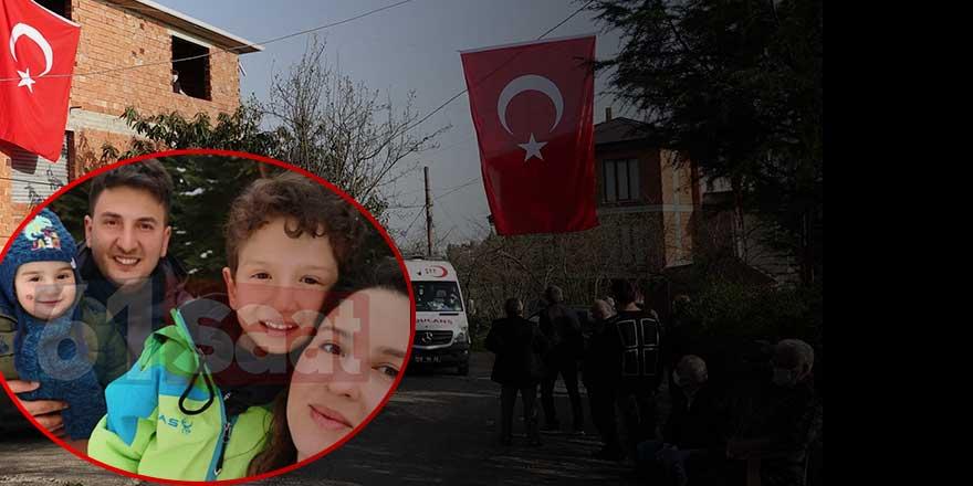 Trabzon şehit Pilot Yüzbaşı Burak Gençcelep'a ağlıyor... Yürek yakan acı