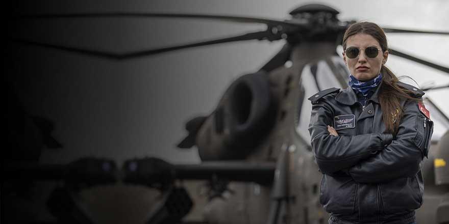 Büyük gurur adını tarihe yazdırdı! Komiser Özge Türkiye'nin ilk kadın taarruz helikopter pilotu oldu