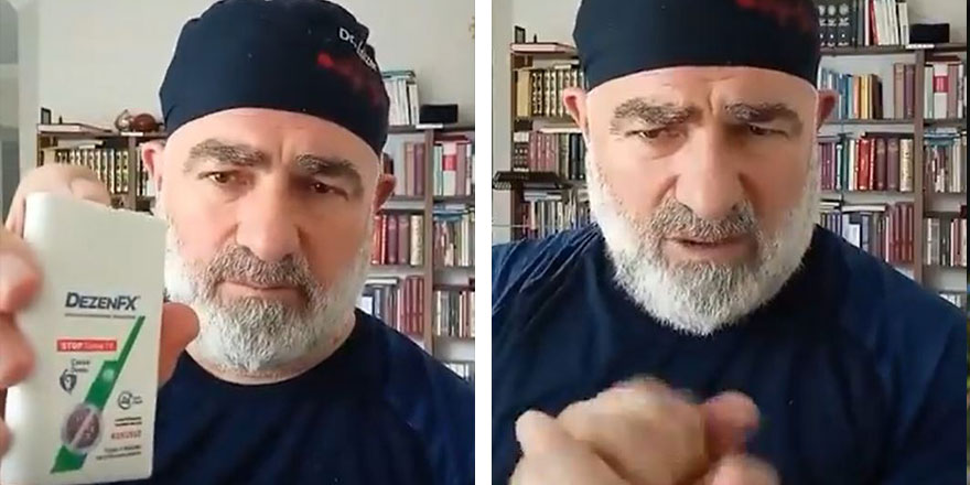 Skandal ifadeleri günlerce tartışılmıştı... Menzilci hekim Ali Edizer reklama başladı