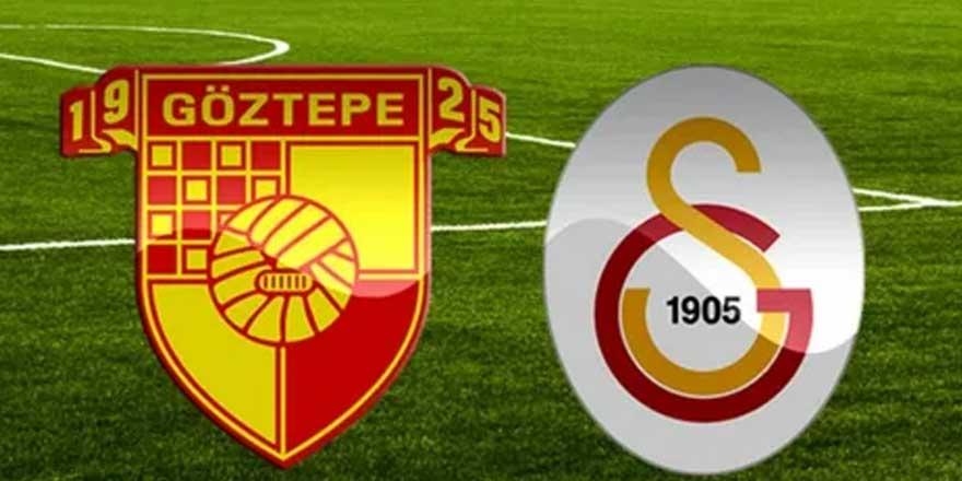 Göztepe-Galatasaraymaçı 1-3 bitti