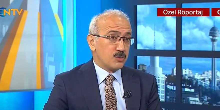 Hazine ve Maliye Bakanı Lütfi Elvan'dan 128 milyar dolar açıklaması