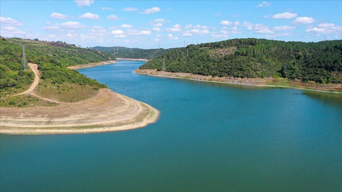İstanbul barajları dolmaya devam ediyor