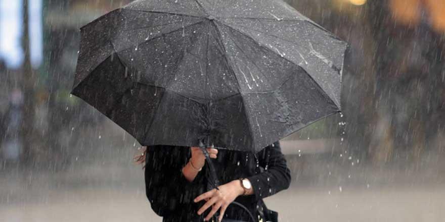 Meteoroloji'den yapılan uyarılara göre, 3 bölgede gök gürültülü sağanak yağış bekleniyor!