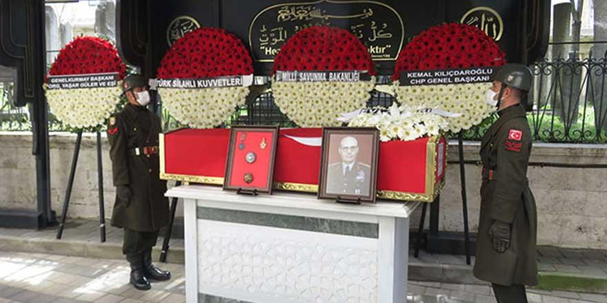 19. Genelkurmay Başkanı Necdet Üruğ son yolculuğuna uğurlandı