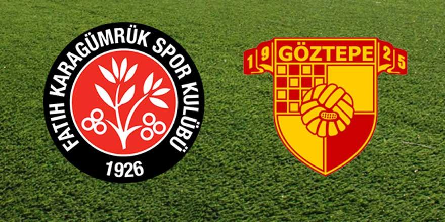 Karagümrük - Göztepe maçı 1-1 bitti