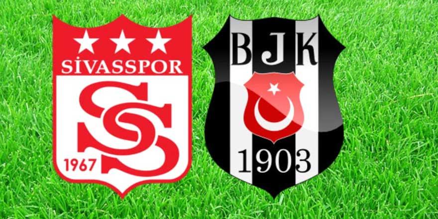 Sivasspor - Beşiktaş maçı berabere bitti