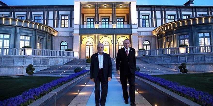 Saray'da dikkat çeken Oğuzhan Asiltürk ile Erdoğan buluşması
