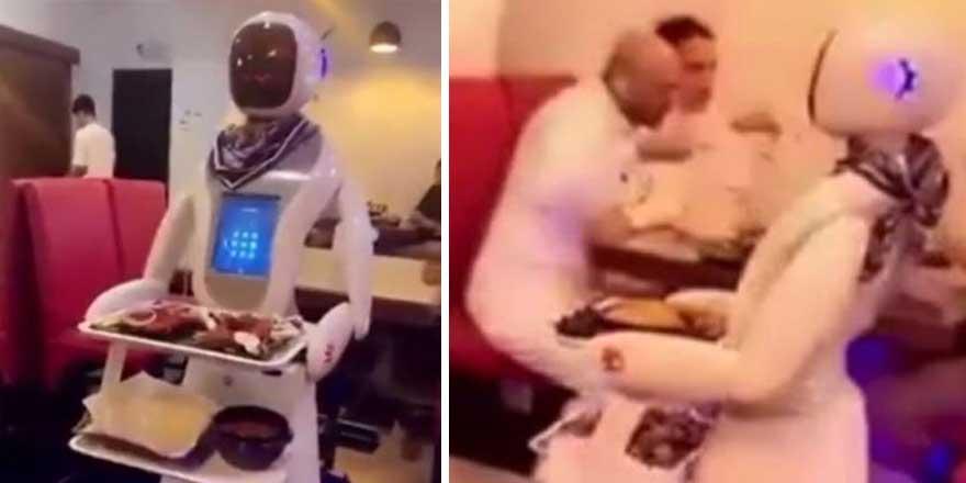 Suudi Arabistan'ın robot restoranı açıldı