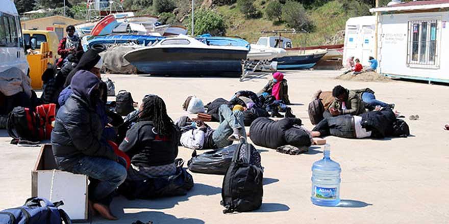 İzmir'de 23 kaçak göçmen kurtarıldı