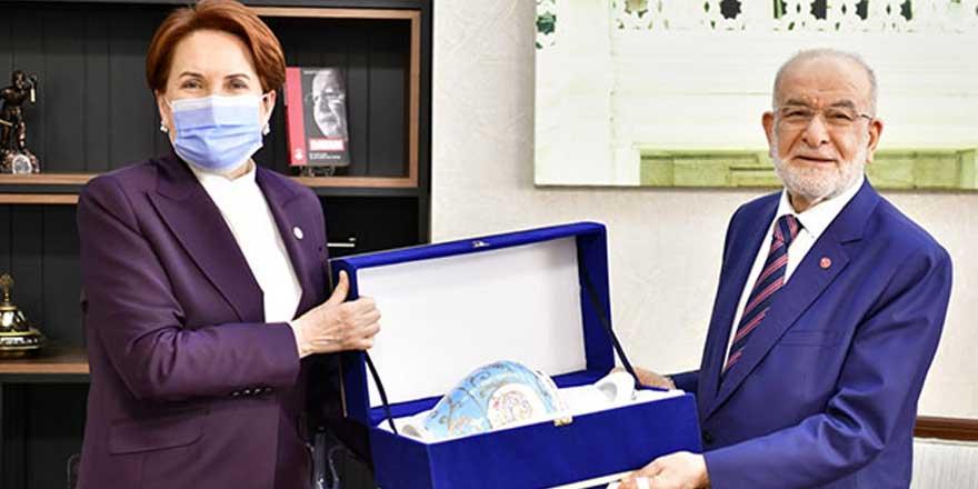 Meral Akşener, Temel Karamollaoğlu ile görüştü