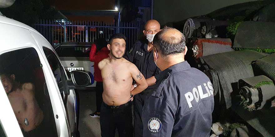 Adana'da Sezai Y. önce kaçtı yakalanınca polise dedikleri pes dedirtti!