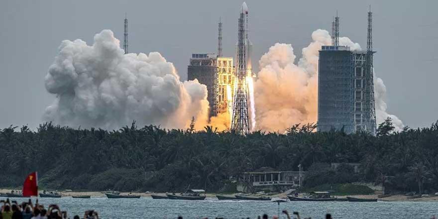 Çin roketi dünyaya düşebilir!