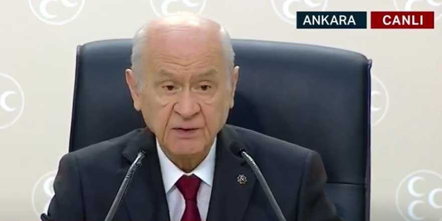 MHP Lideri Devlet Bahçeli basın toplantısında duyurdu: 100 maddelik anayasa önerisi