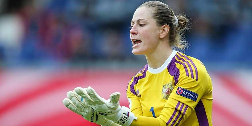 Rusya milli takımının kalecisi Elvira Todua'dan çarpıcı ifadeler: Erkek futbolculara yasak ama bize serbest!