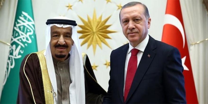 Erdoğan, Kral Selman ile görüştü!