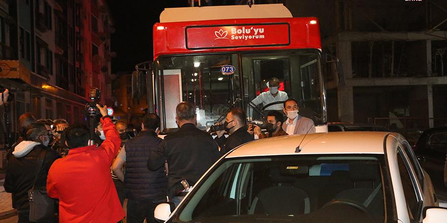 Bolu Belediyesi'nin 'Mobil Konser' aracına polis müdahale etti