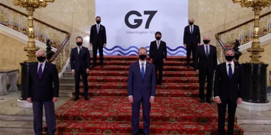 G7 Dışişleri Bakanları Toplantısı bildirgesi: Demokrasi tehdit altında